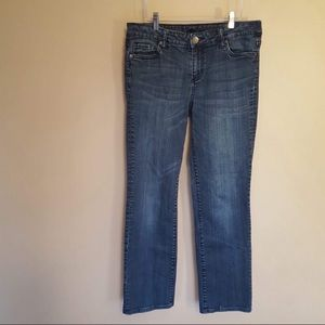 KUT from the Kloth Jessica straight leg jeans 8